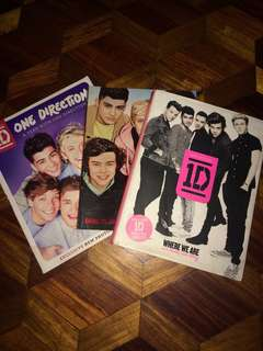 One Direction books (bundle)