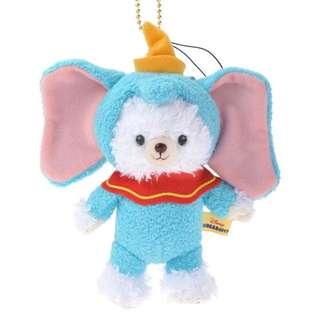 東京迪士尼 絕版 懷普 大學熊 變裝 小飛象