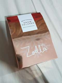 ZOELLA (british youtuber) beauty original bath fizzers snow relaxed effervescent