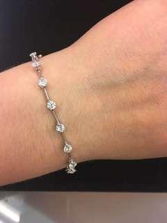 3⃣️克拉钻石💎K18手链🎁
