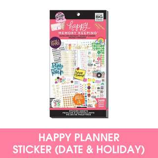 Happy Memory Keeping® Sticker Value Pack, Dates & Holidays