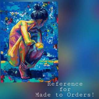 Lady Made To Order Painting