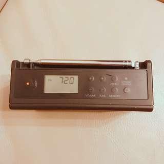 MUJI SOS 求救收音機鐘購於日本