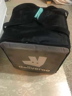 Deliveroo bag with thermal
