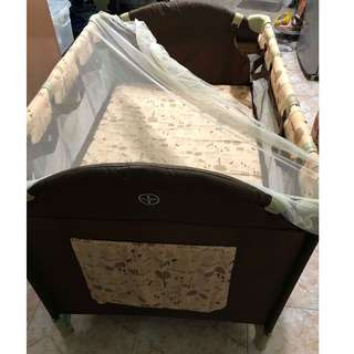 Giant Carrier Crib/Playpen/Rocker