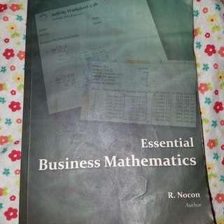 R. Nocon essential business mathematics