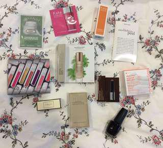 Makeup/skincare sample bundle