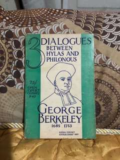 Three Dialogues between Hylas and Philonous (George Berkeley)