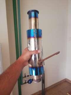 Spoon n1 exhaust/ekzos