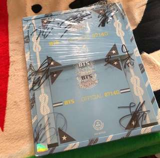 BTS 防彈少年團 全團親簽summer package 2014