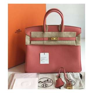 Authentic Hermes Birkin 25 Bag