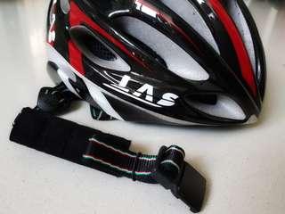 Bicycle Helmet LAS Victory (Black/Red)