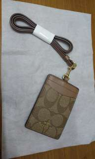 全新Coach Card Holder