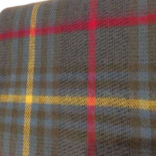 Topshop checked scarf