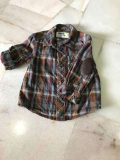 Boy long sleeve shirt (18m)