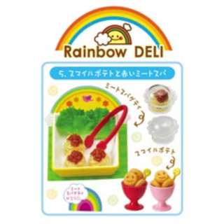 🌸Re-ment Rainbow Deli No.5 Smile Potatoes and Red Meat Spaghetti