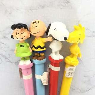 史努比Snoopy 造型原子筆 糊塗塌客 查理布朗 露西 澳洲TYPO購入