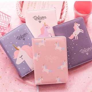 PO Unicorns Dreams Notebook Planner A6 5 Designs