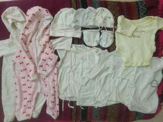 All set for new born baby except booties