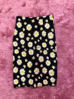 Sunflower Bandage Skirt