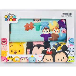 🚚 Disney Tsum Tsum towel 4pc gift set #hariraya35