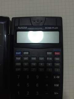 Aurora SC500 PLUS Calculator