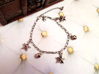 🆕️Silver Star and Bells Bracelet