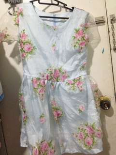 Korean dress-floral