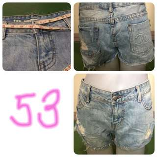Denim Short 53