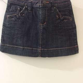 P & Co Denim Skirt