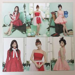 Twice 1st Tour Twiceland Postcard
