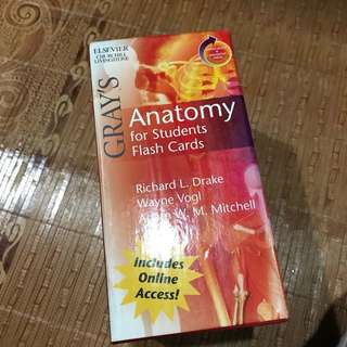 Anatomy for Students Flash Cards