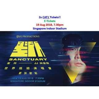 JJ Lin Sanctuary World Tour