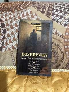 Notes from Underground (Fyodor Dostoevsky)