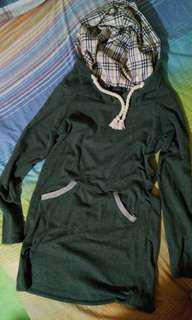 FREE SHIPPING! Long hoodie / dress
