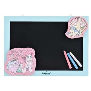 Sung-Buy正版日本迪士尼小美人魚黑板