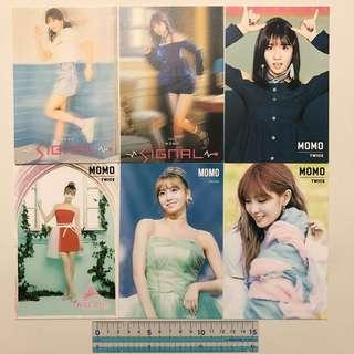 Twice Momo 韓國飯製眀信片貼紙 Made In Korea Postcard Sticker