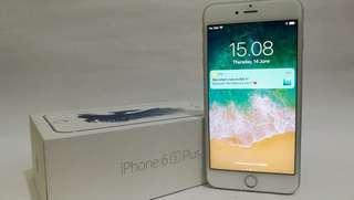 iphone  6s plus 128gb silver fullset murah