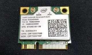 Intel Centrino Advanced-n 6235 802.11n Pci-e Bluetooth4.0 Card 6235ANHMW 300mbps