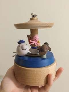 木製音樂盒 誠品 海洋公園特別版