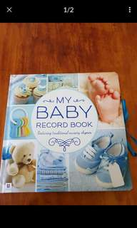 NEW BABY RECORD BOOK