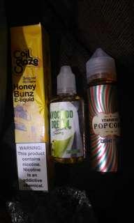 Liquid Vape 3 Botol