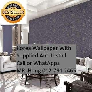 Juru Wallpaper Service Call Mr. Heng 012-7912465