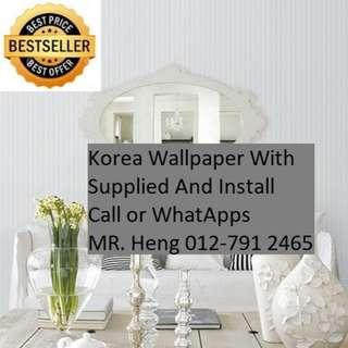Kepala Batas Wallpaper Service Call Mr. Heng 012-7912465