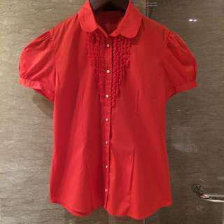 The Excecutive Original Authentic 100% - Orange blouse