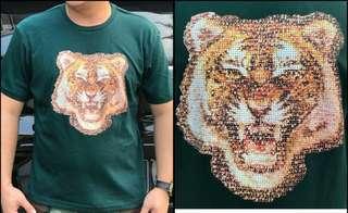 Zara Tiger Print Blouse