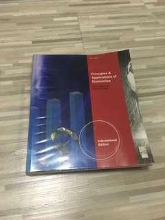 Principles and Applications of Economics