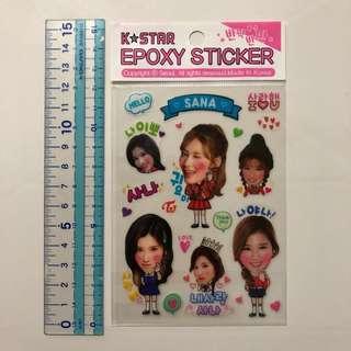 Twice 韓國飯製貼紙 Sticker Made In Korea