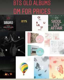 [PO] BTS OLD ALBUM