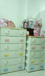 日本正版IRIS kittu 超好用大容量抽屜收納櫃 斗櫃 衣櫃 萬用收納 化妝櫃 六層+五層